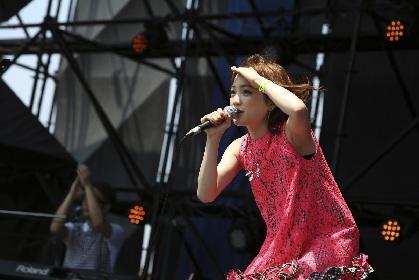 瀬川あやか、看護師らしい一面も見せた初の夏フェス『JOIN ALIVE 2017』で新曲を初披露