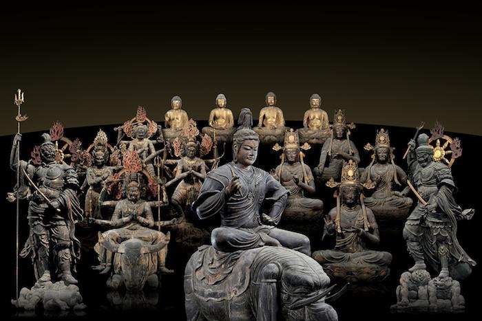 仏像曼荼羅イメージ 東寺蔵