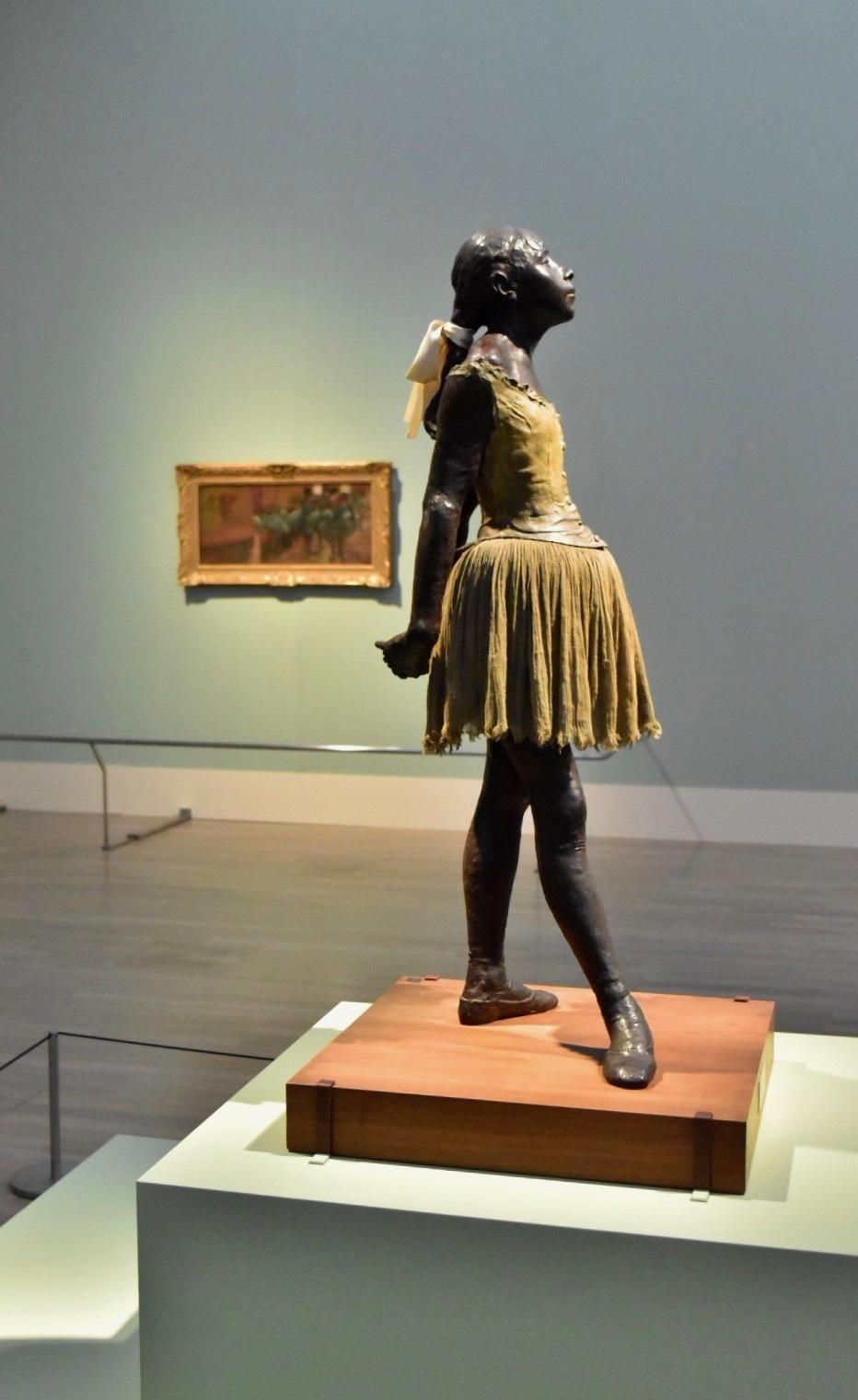 エドガー・ドガ 《14歳の小さな踊り子》1880-81年(ワックスによる原作)/1932-36年(ブロンズによる鋳造)