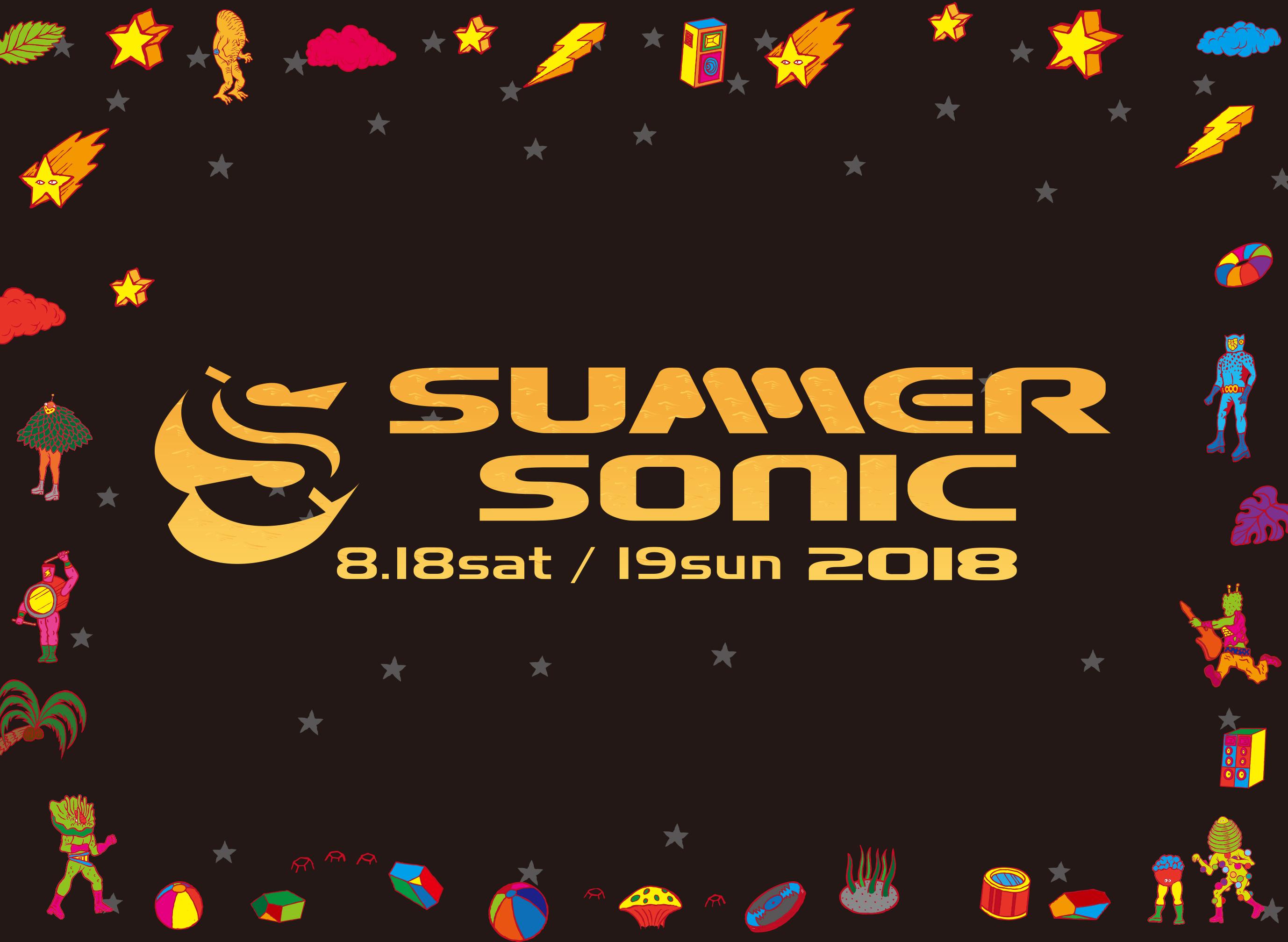 『SUMMER SONIC 2018』
