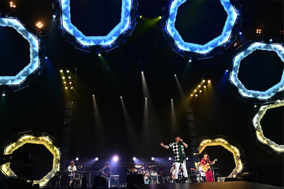 ポルノグラフィティ ©テレビ朝日 ドリームフェスティバル 2018 / 写真:岸田哲平
