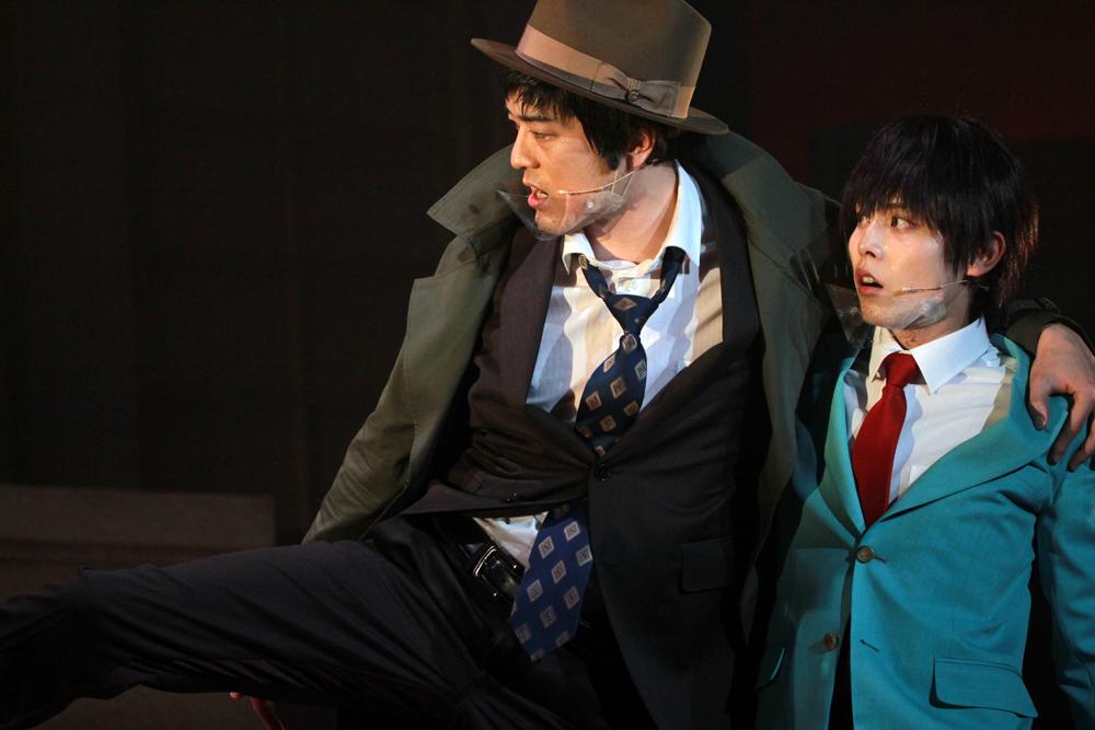 舞台『錦田警部はどろぼうがお好き』舞台写真