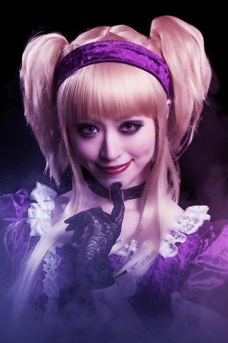 コロンビーヌ役 花奈澪 (C)藤田和日郎・小学館/舞台劇「からくりサーカス」製作委員会