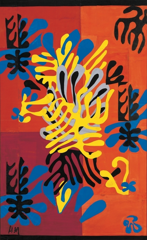 アンリ・マティス《ミモザ》1949年 池田20世紀美術館