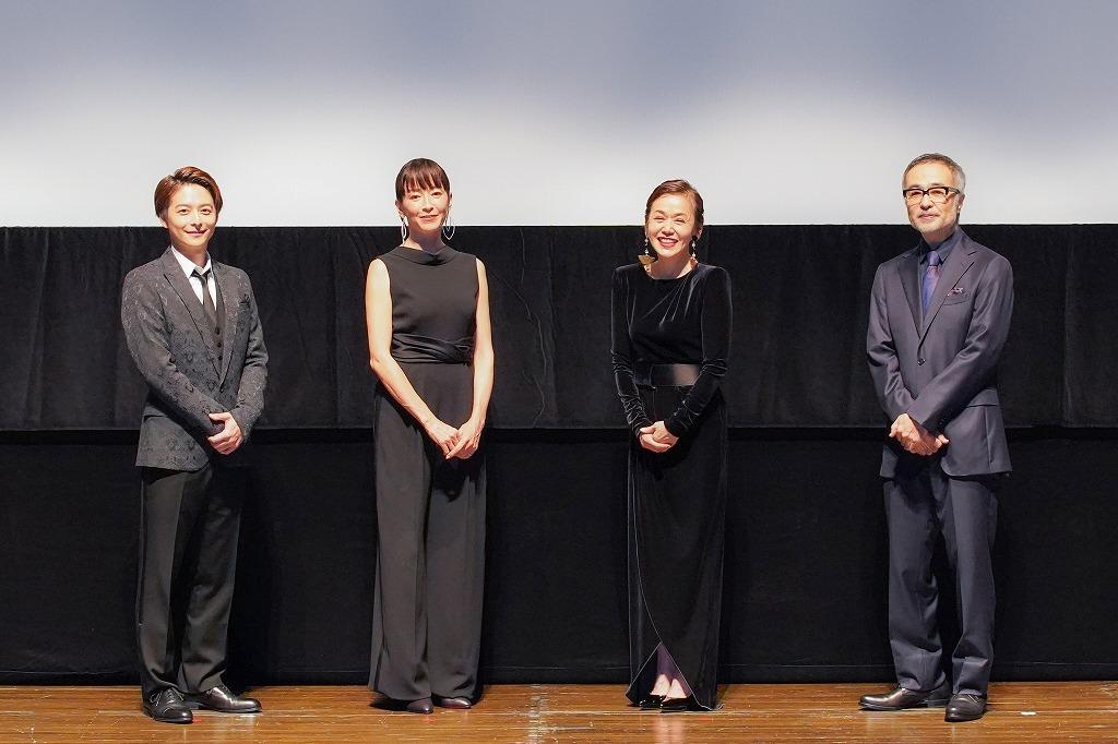 (左から)小池徹平、宮沢りえ、大竹しのぶ、松尾スズキ 撮影:宮川舞子