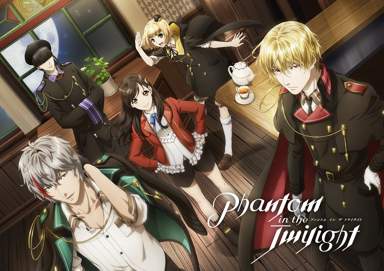 TVアニメ『Phantom in the Twilight』  (C)2018 Happy Elements AP