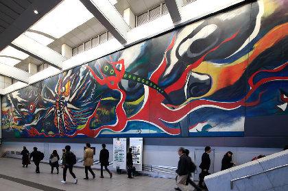 岡本太郎のパブリックアートを紹介 『街の中の岡本太郎』展に約170点