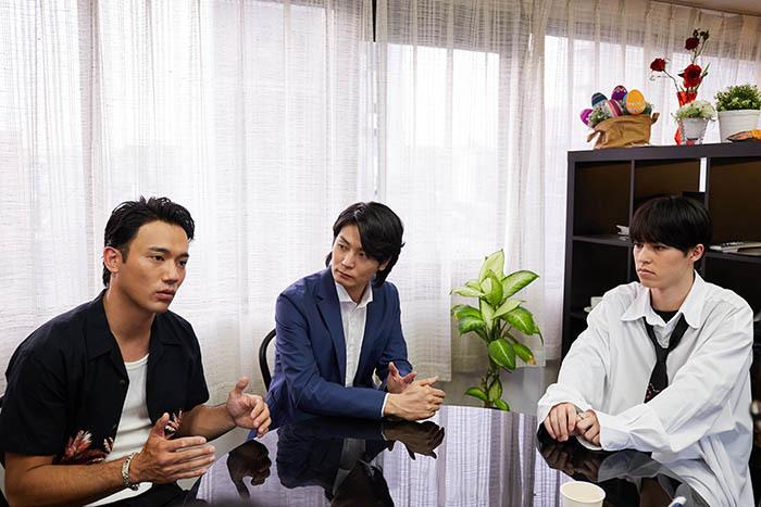 (左から)小澤雄太、八神蓮、森田桐矢