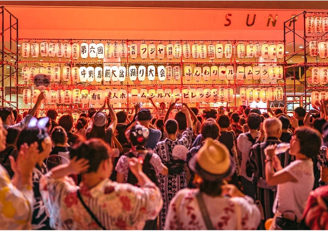 DJ Celly「中野駅前大盆踊り大会」
