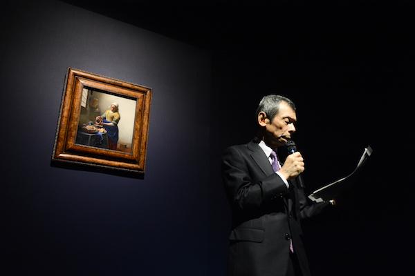 本展の日本側監修である千足伸行が来日作品を解説