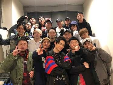 SKY-HI、SALU、HUNGER、Ja Mezz、Moment Joon、5MCのスキルがぶつかり合う「Name Tag」MV公開