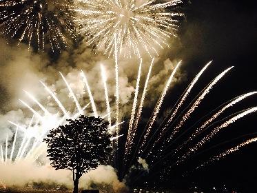 インパクト抜群!手筒花火の火柱が空をオレンジに染める『第12回 越前市サマーフェスティバル』花火大会をレポート