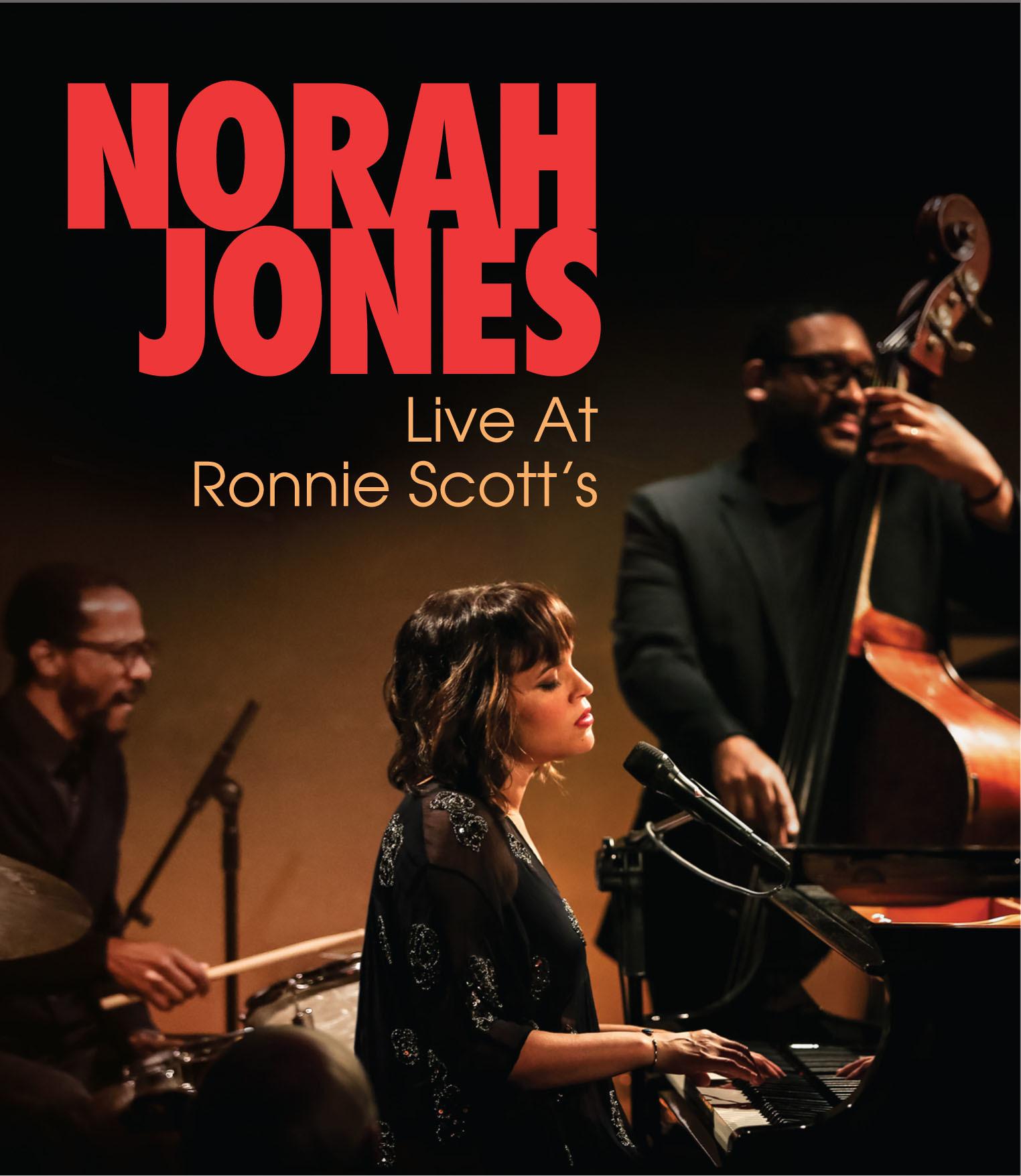ノラ・ジョーンズ『ライヴ・アット・ロニー・スコッツ』Blu-ray