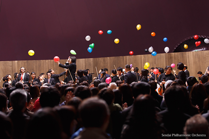 昨年の模様より 仙台フィルハーモニー管弦楽団
