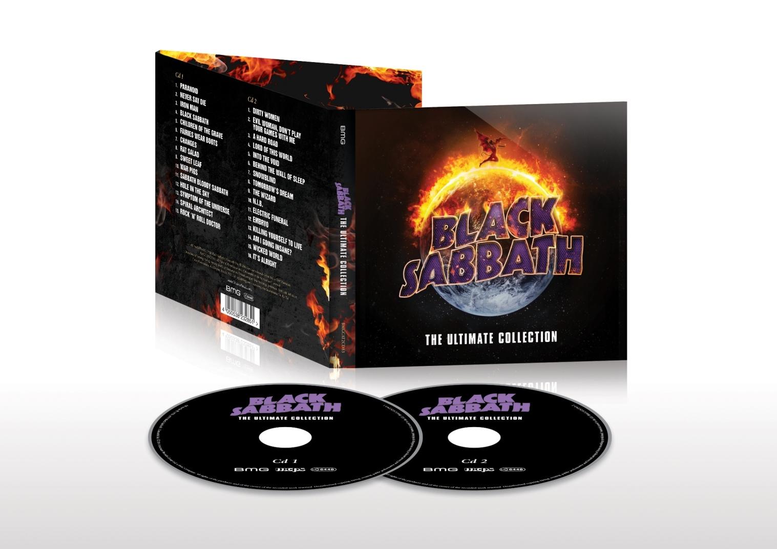 ブラック・サバス『THE ULTIMATE COLLECTION』2枚組CD