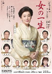 大竹しのぶ主演 段田安則が演出を務める『女の一生』のビジュアルが解禁