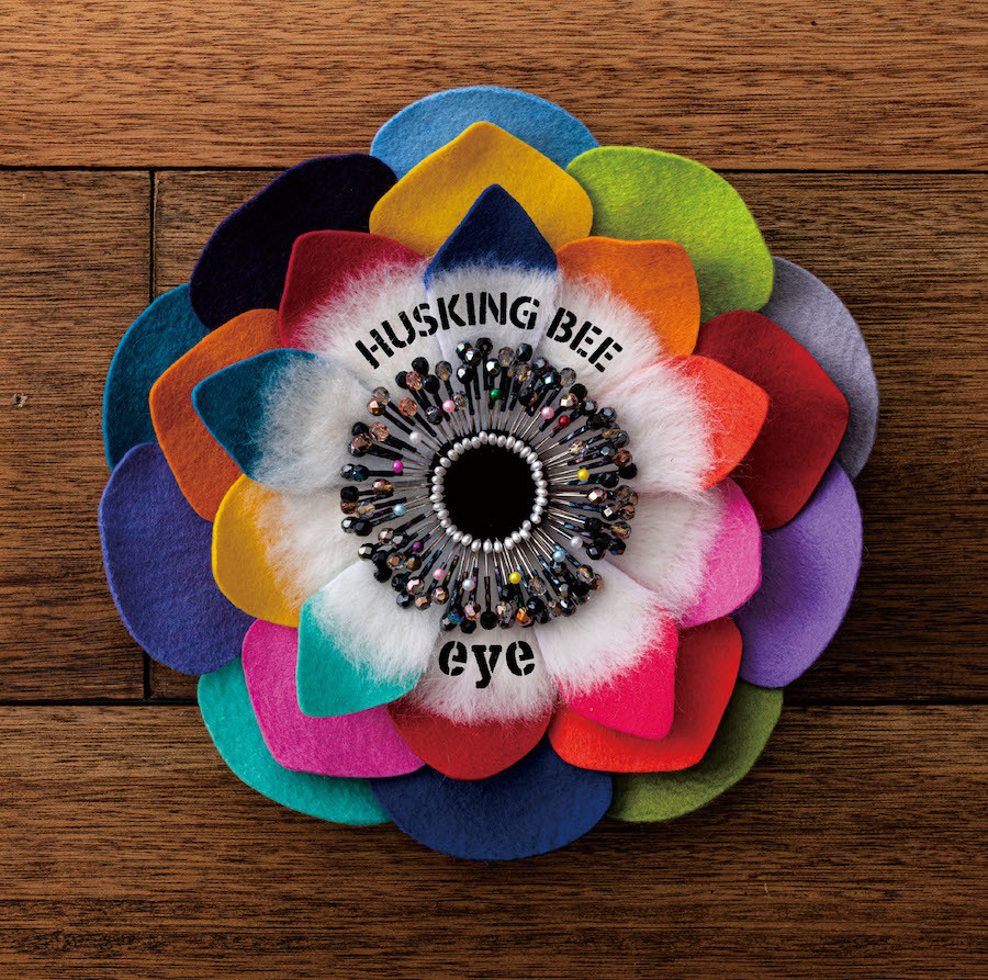 HUSKING BEE 10thアルバム『eye』