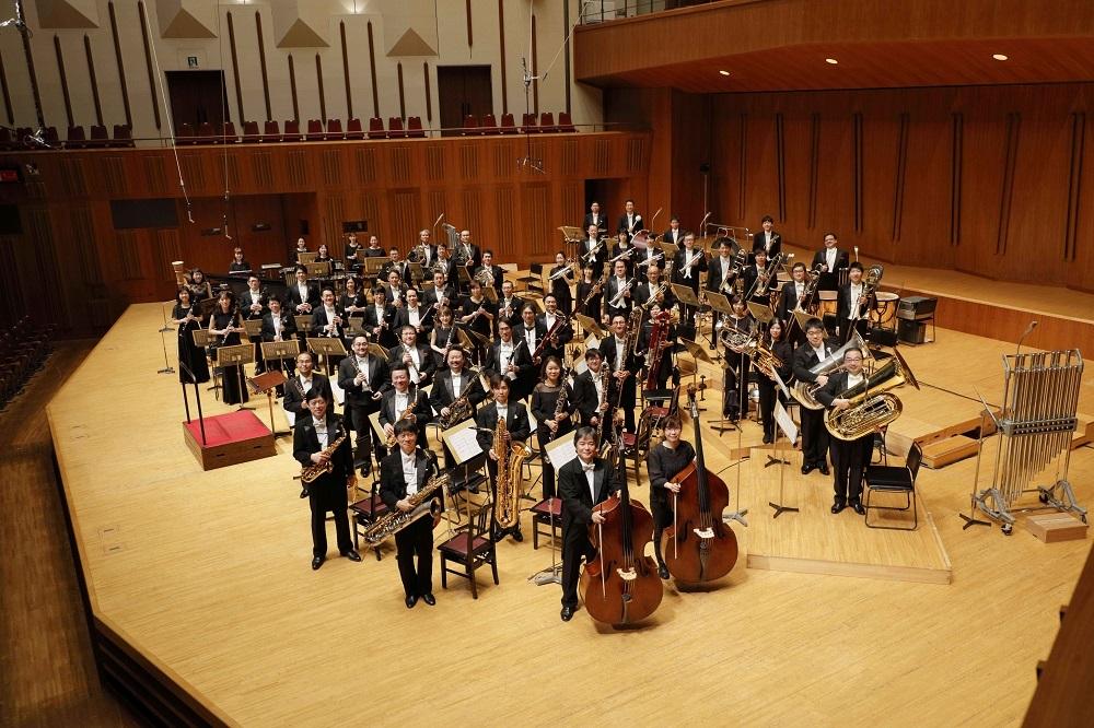 吹奏楽:東京佼成ウインドオーケストラ  (C)Atsushi Yokota