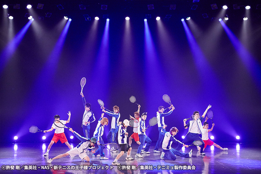 TEAM Party SEIGAKU より ⓒ許斐 剛/集英社・NAS・新テニスの王子様プロジェクト ⓒ許斐 剛/集英社・テニミュ製作委員会