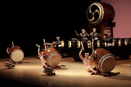太鼓芸能集団 鼓童、「ひとつの地球」をテーマにしたワン・アース・ツアー2019『道』日本ツアーがスタート