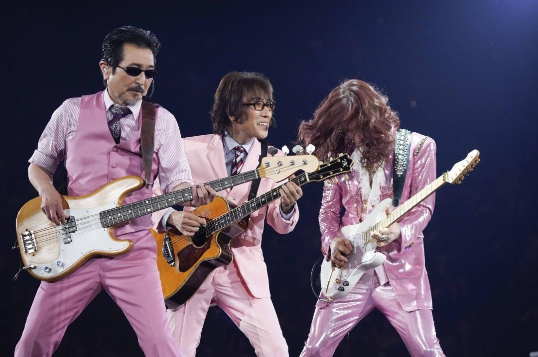 THE ALFEE『45周年記念セレモニー&スペシャルコンサート』 撮影:上飯坂一