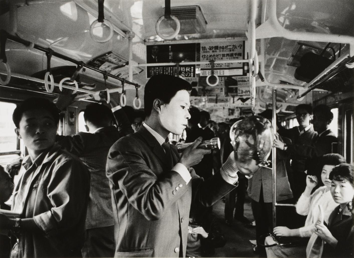 村井督侍《「山手線のフェスティバル」ドキュメンタリー写真》1962年