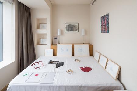 Finch Arts, ART in PARK HOTEL TOKYO 2018 展示の様子 photo by Yusuke Tsuchida