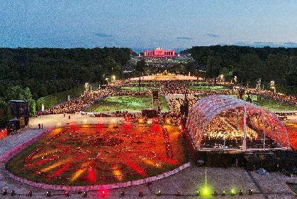 ウィーン・フィルの「シェーンブルン 夏の夜のコンサート」と、「ザルツブルク音楽祭」のオペラ『アイーダ』でネトレプコを堪能!