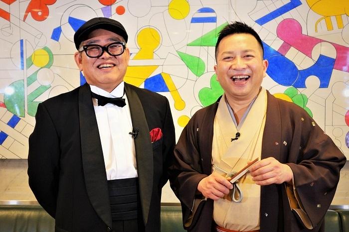 (左から)兵動大樹  桂吉弥