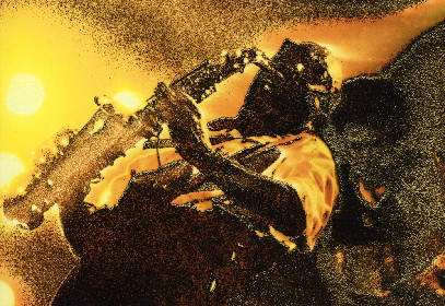 """丸山派留雄作品展『写真が奏でるジャズの響き』 ジャズバンドを写した""""音""""の聴こえる写真たち"""