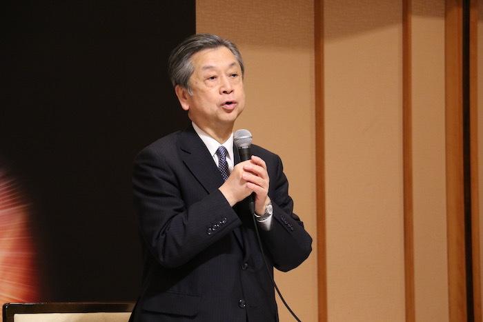 松竹株式会社 安孫子正副社長