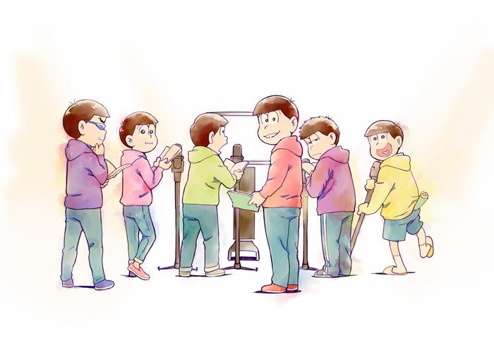TVアニメ『おそ松さん』第3期超ティザービジュアル (C)赤塚不二夫/おそ松さん製作委員会