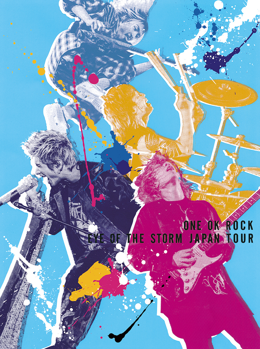 "LIVE DVD&Blu-ray 『ONE OK ROCK ""EYE OF THE STORM"" JAPAN TOUR』"