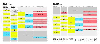 キャンプフェス『FUJI & SUN '19』D.A.N.ら最終出演アーティスト&タイムテーブルを発表