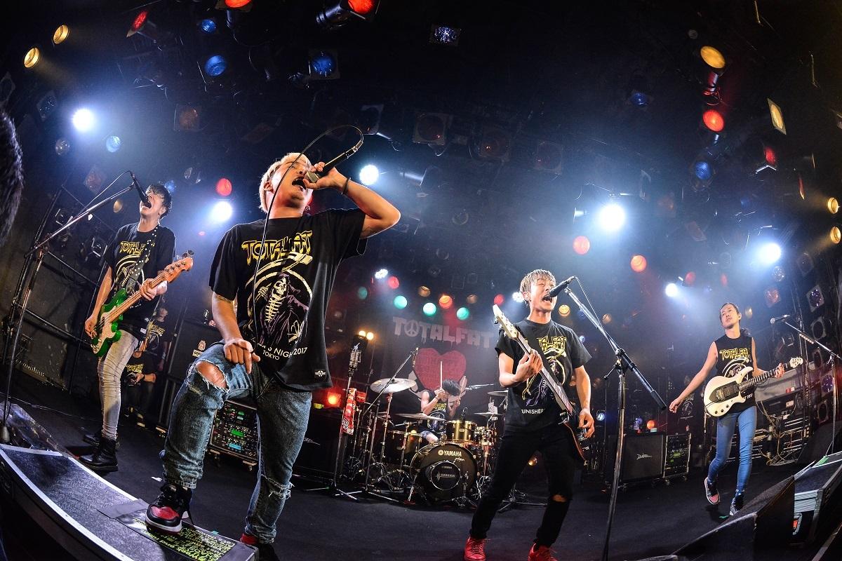 TOTALFAT / SHOGO(175R) Photo by Azusa Takada