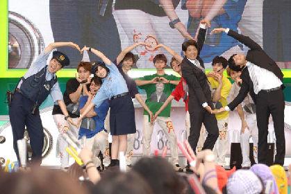 超特急、お台場で6000人といきものダンス!3度目めざましライブに橋本環奈も来た