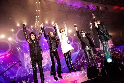 X JAPANが尽きぬ夢を示し、HYDE、オーラルらの躍動に完全燃焼! テレビ朝日ドリームフェスティバル 2018・1日目