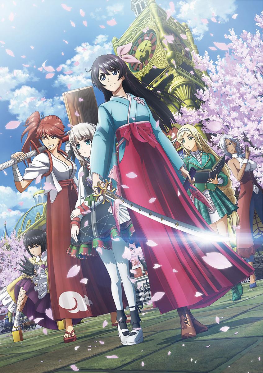 『新サクラ大戦』本ポスター (C)SEGA/SAKURA PROJECT