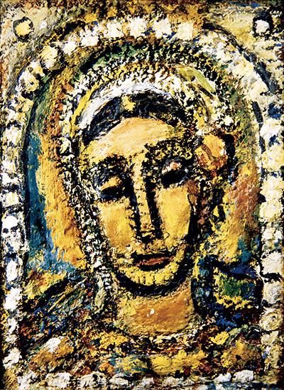 《サラ》1956年油彩ジョルジュ・ルオー財団蔵