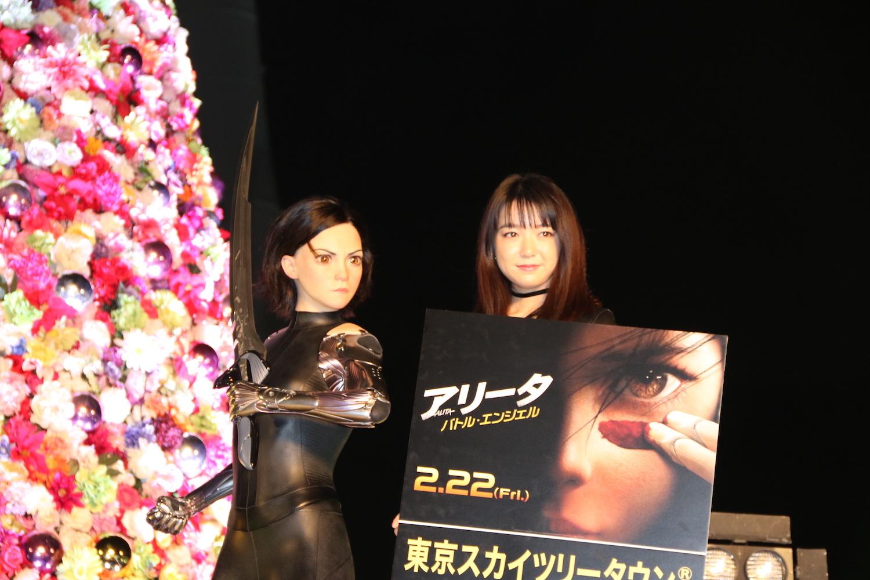 『アリータ:バトル・エンジェル』でハリウッド実写版日本語吹き替え版に初挑戦する上白石萌音