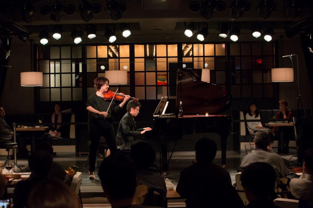 松田理奈(ヴァイオリン)&中野翔太(ピアノ)