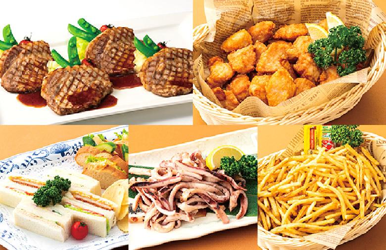「イープラス食事付プラン」の食事メニュー