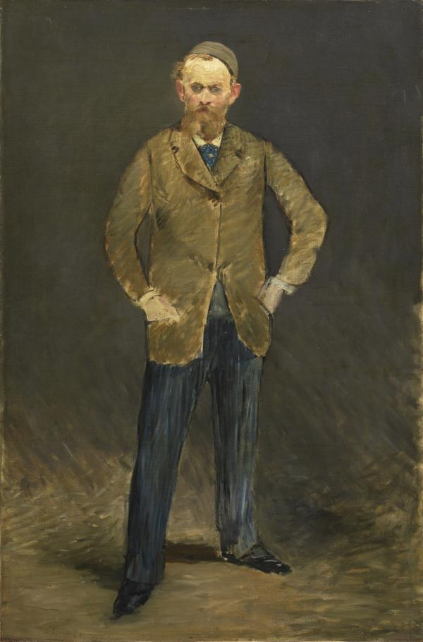 エドゥアール・マネ《自画像》 1878-79年  油彩、カンヴァス 石橋財団ブリヂストン美術館/石橋財団アーティゾン美術館