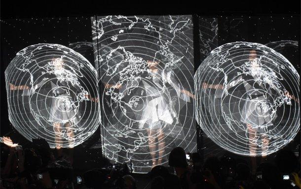 「SXSW 2015」で行われたPerfumeのライブの様子。(写真提供:ユニバーサルミュージック)
