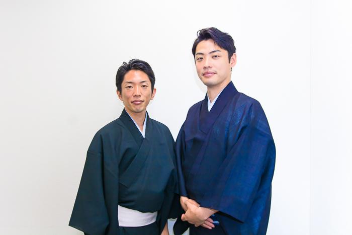 囃子方ユニット『お囃子プロジェクト』(左から)望月左太寿郎、望月秀幸
