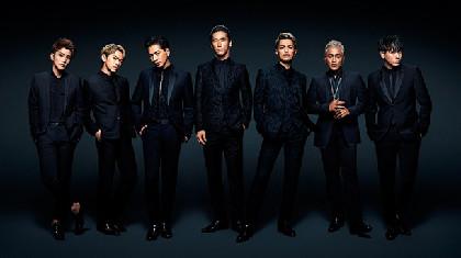 三代目JSB、シングル「J.S.B. HAPPINESS」と「METROPOLIZ」ツアー映像を同時発売