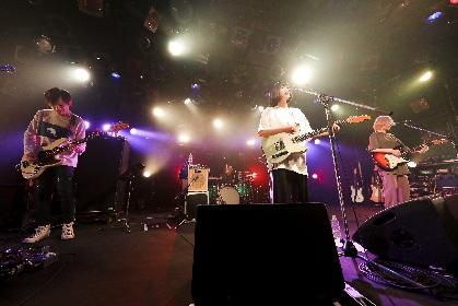なきごと、新曲「ラズベリー」も披露ーーライブハウスで再び音楽を鳴らせる喜びに満ちた一夜限りのライブ