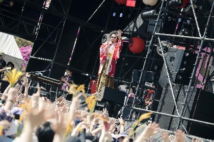 レキシ 地元・福井県鯖江市で6,500人完売の野外凱旋ワンマンが大盛況で幕