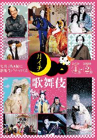 『野田版 桜の森の満開の下』はじめ話題作続々、シネマ歌舞伎《月イチ歌舞伎》2019上映ラインナップ決定