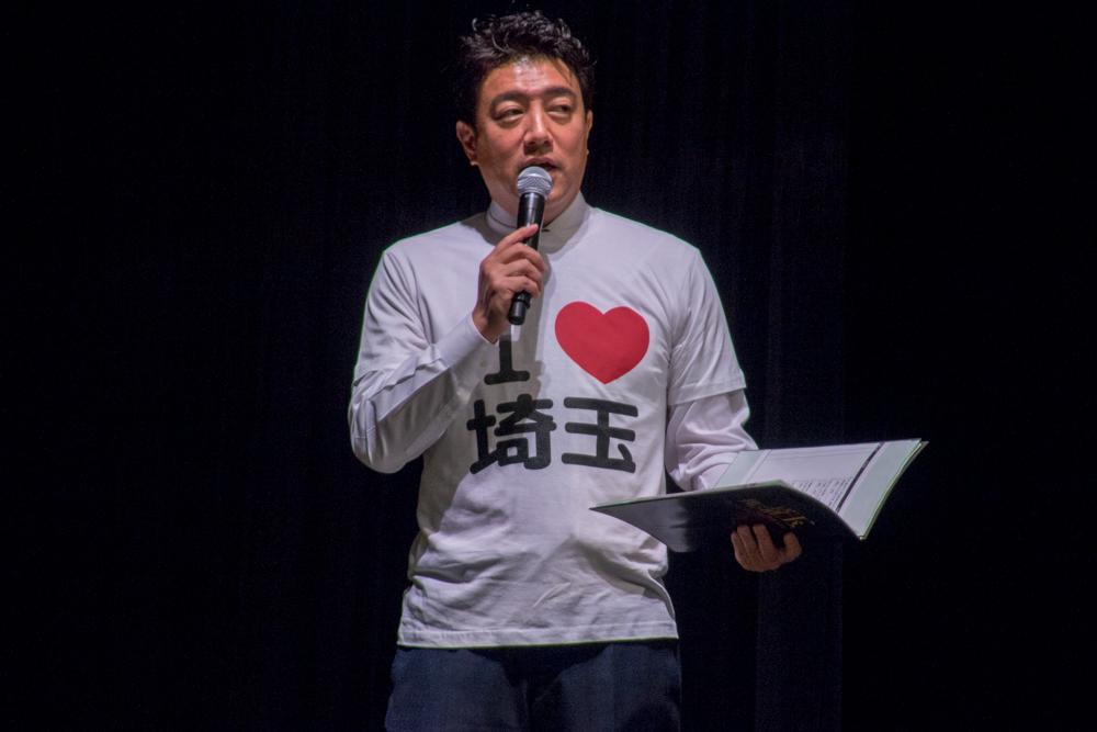 司会の佐野瑞樹アナも埼玉Tシャツ